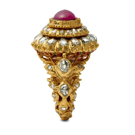 Samina Gold ring view 03